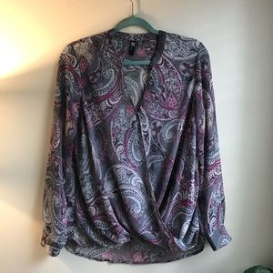 Kut From The Kloth Paisley Blouse